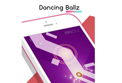 "Game ""Dancing Ballz: Color Line"""